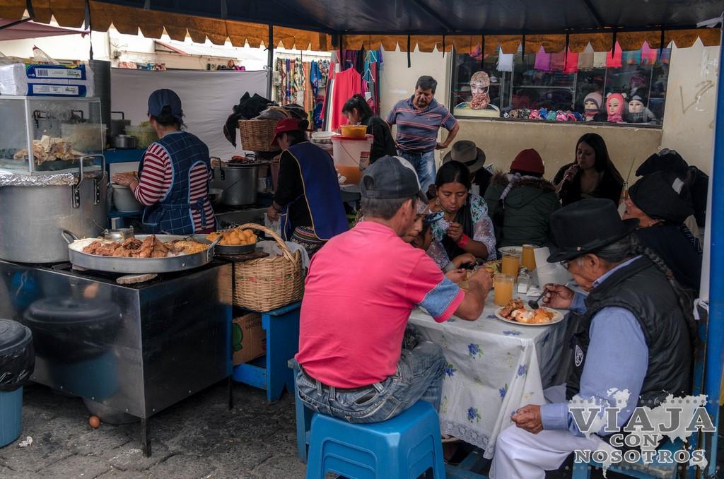 Que comer en Otavalo