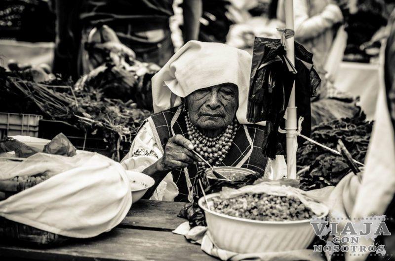 Las mejores fotografías del mercado de Otavalo