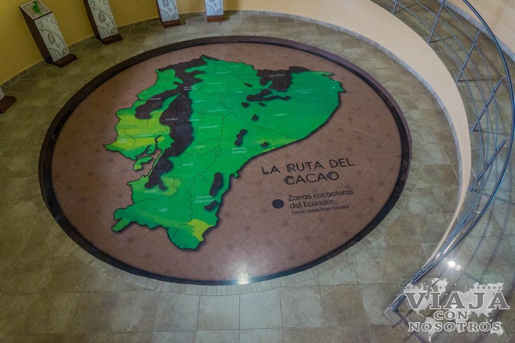 Museo del cacao en la mitad del mundo