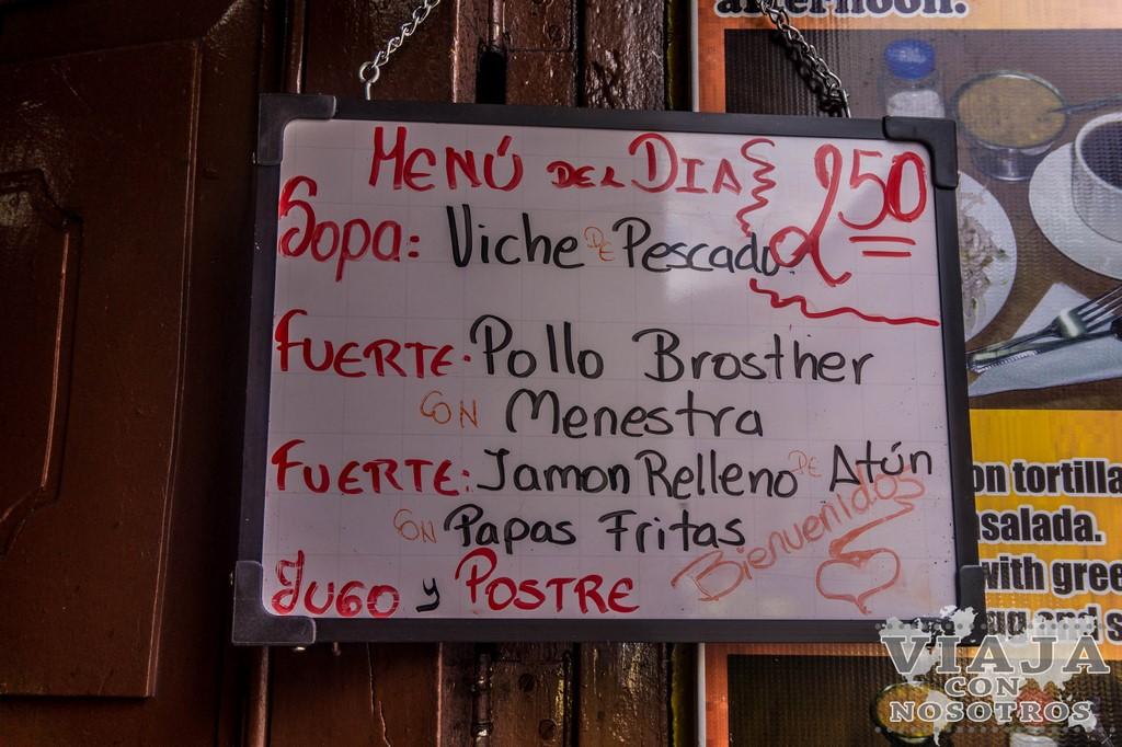 Donde comer en Quito