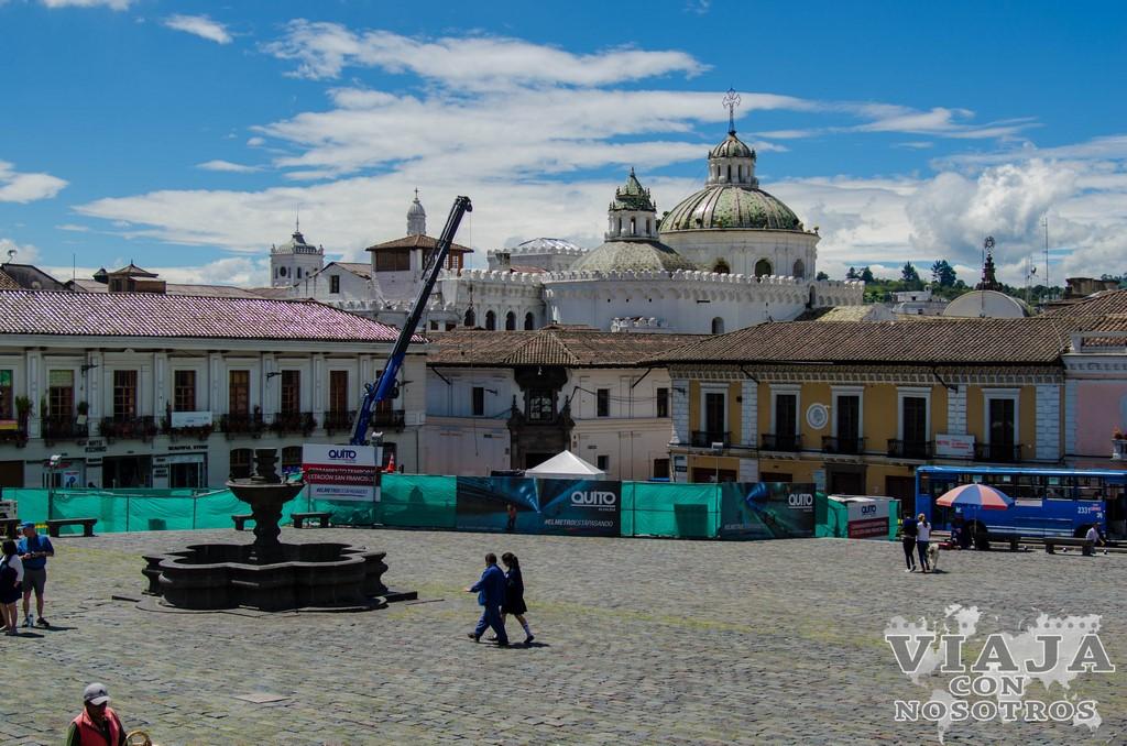 Como ver el centro histórico de Quito