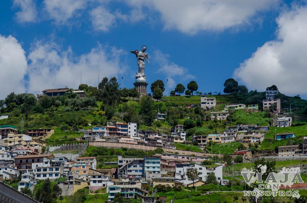 Como llegar al Panecillo de Quito