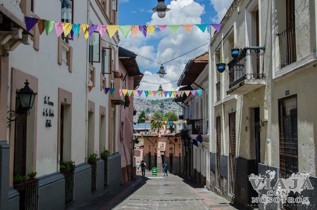 Calle La Ronda de Quito
