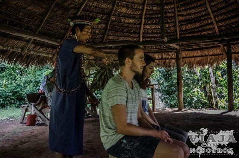 Chaman en la Reserva de Cuyabeno