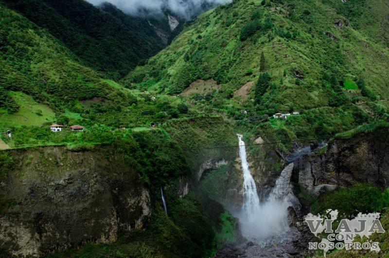 Como recorrer la ruta de las Cascadas de Baños de Agua Santa