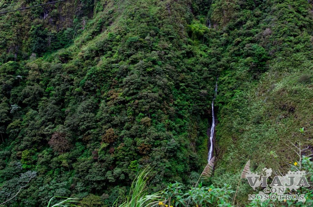 Cascadas de Baños de Agua Santa