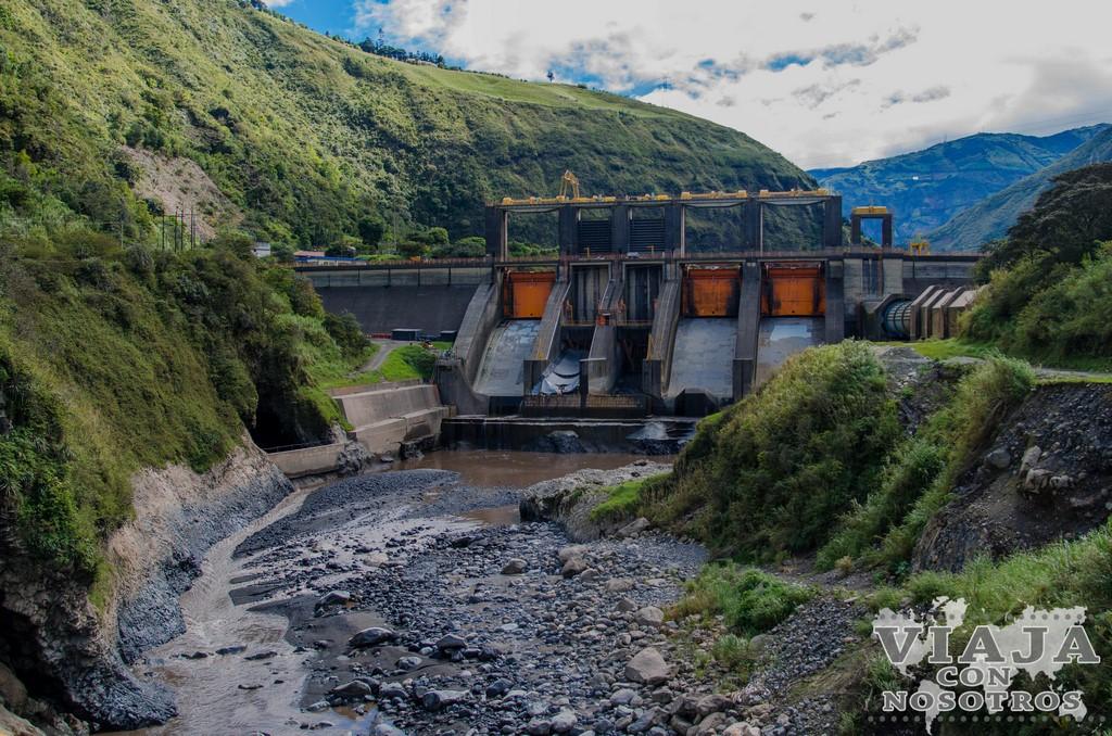 La ruta de las cascadas en Baños