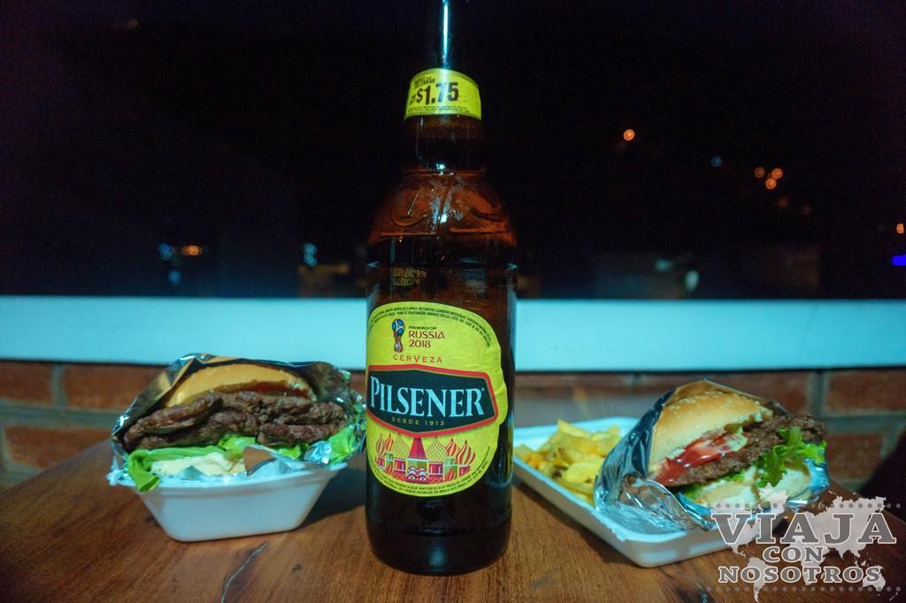 Donde comer en Baños Ecuador