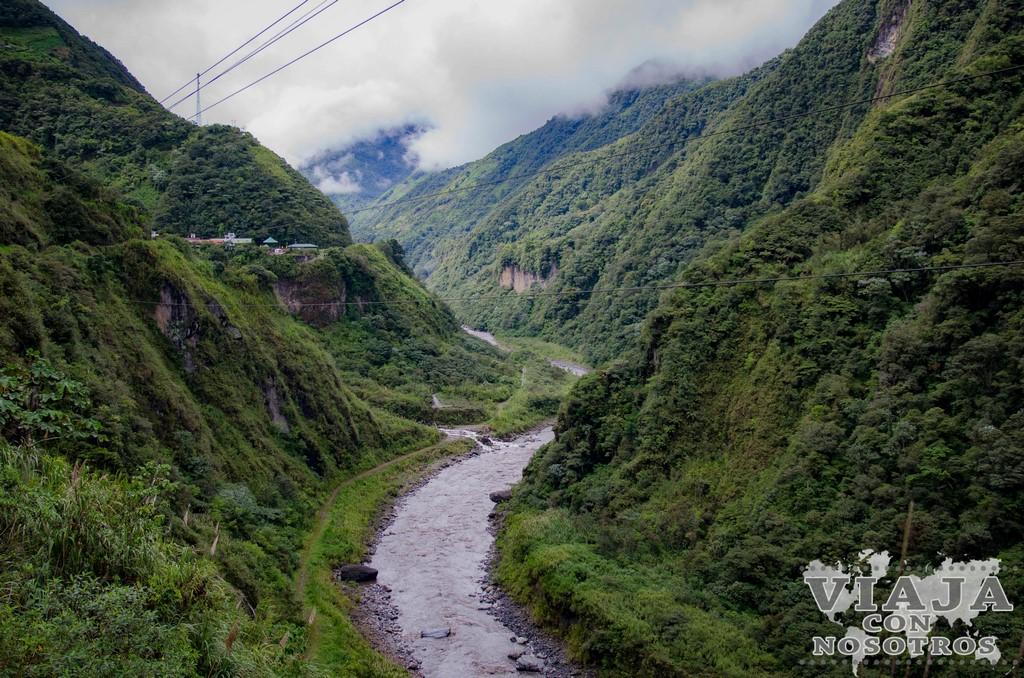 Tour Ruta de las cascadas de Baños