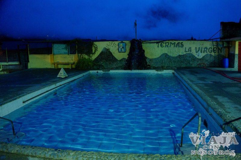 Horario de las Aguas termales de Baños de Agua Santa Ecuador