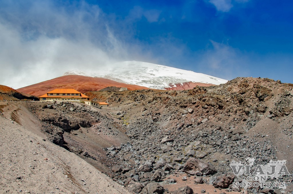 Ascensión al volcán Cotopaxi