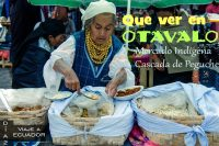 Como ir al mercado indígena de Otavalo en transporte local