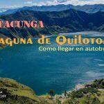 LATACUNGA: Laguna de Quilotoa
