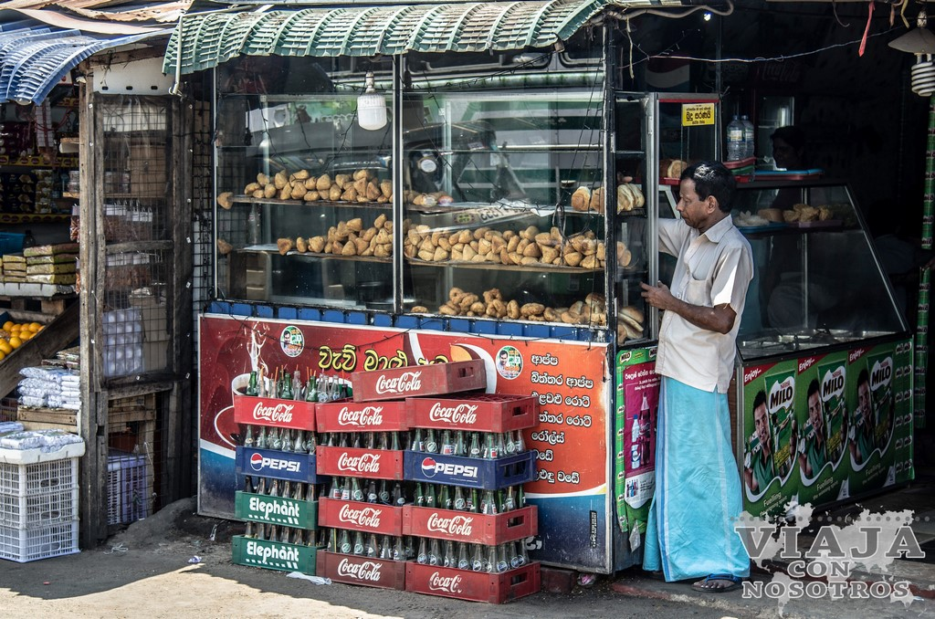 La comida en Sri Lanka