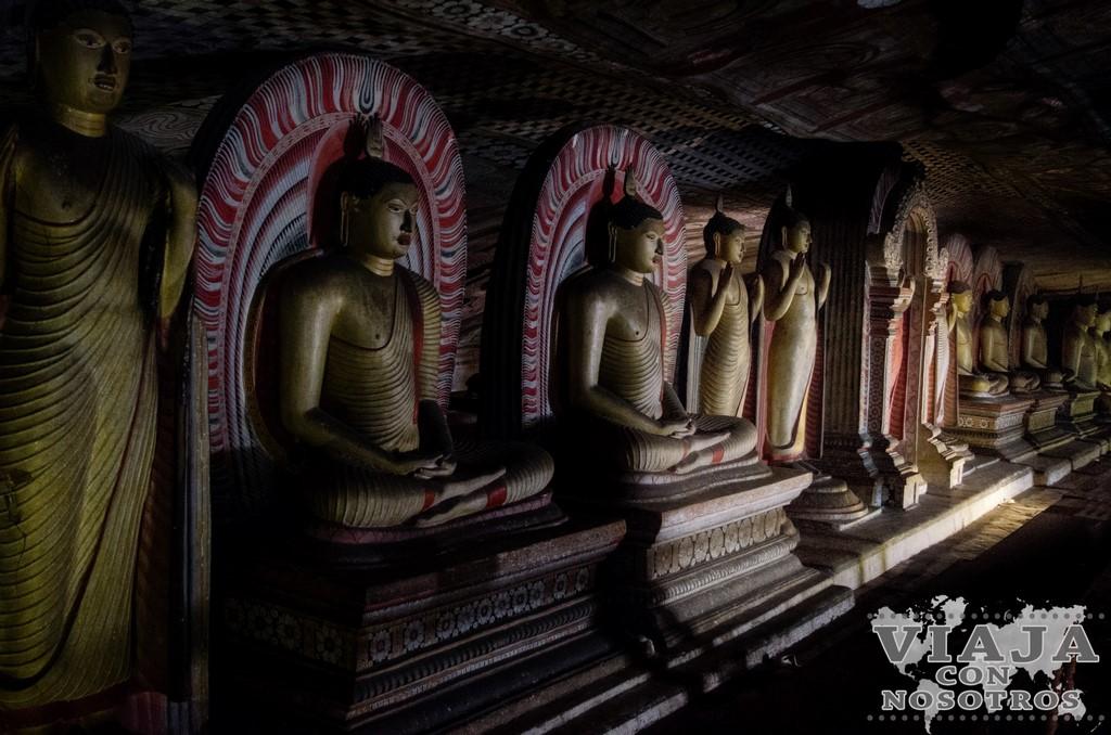 Maharaja Viharaya Cuevas de Dambulla