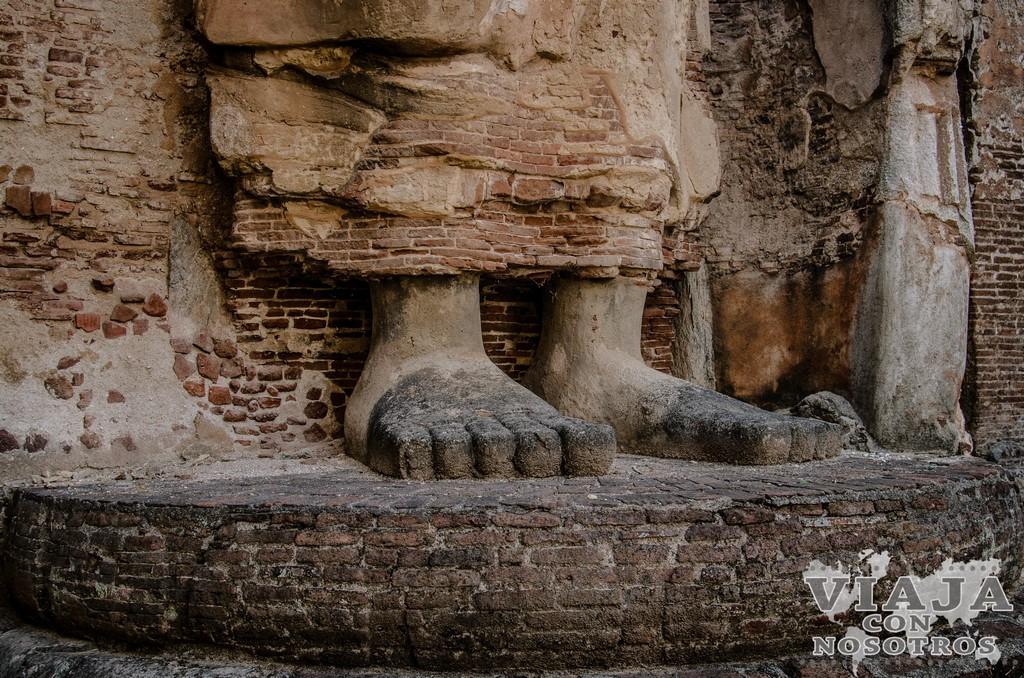 ruta para visitar Polonnaruwa