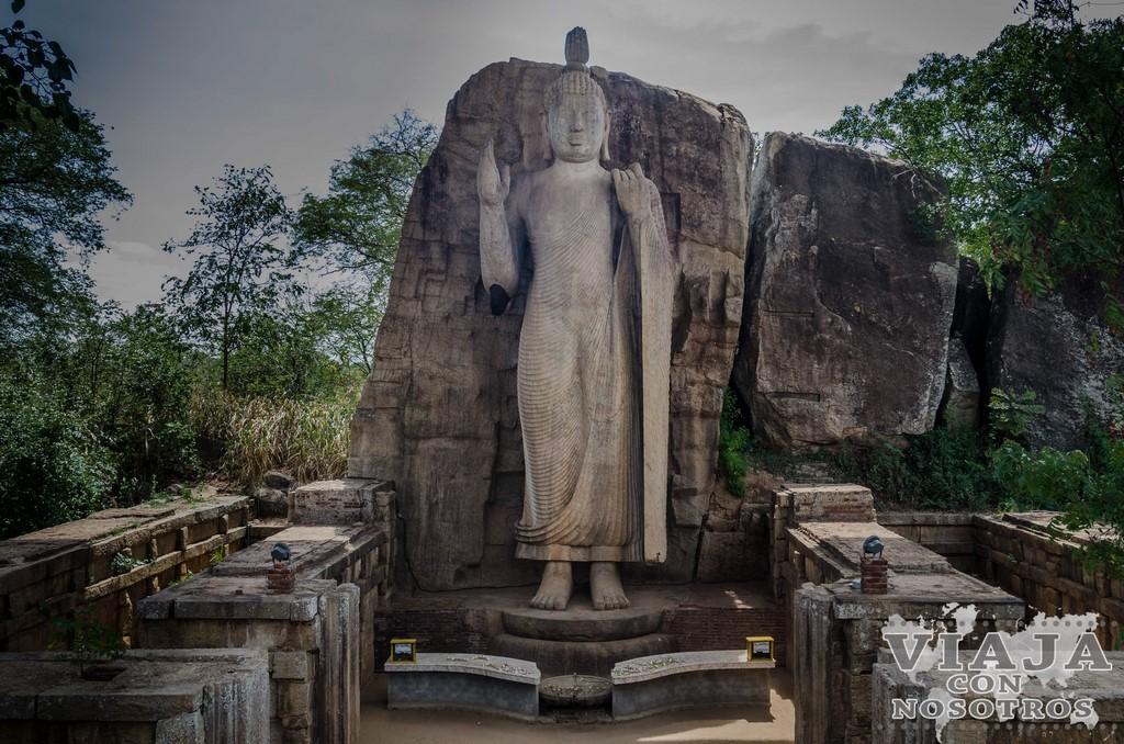 Como ver el Buda de Aukana