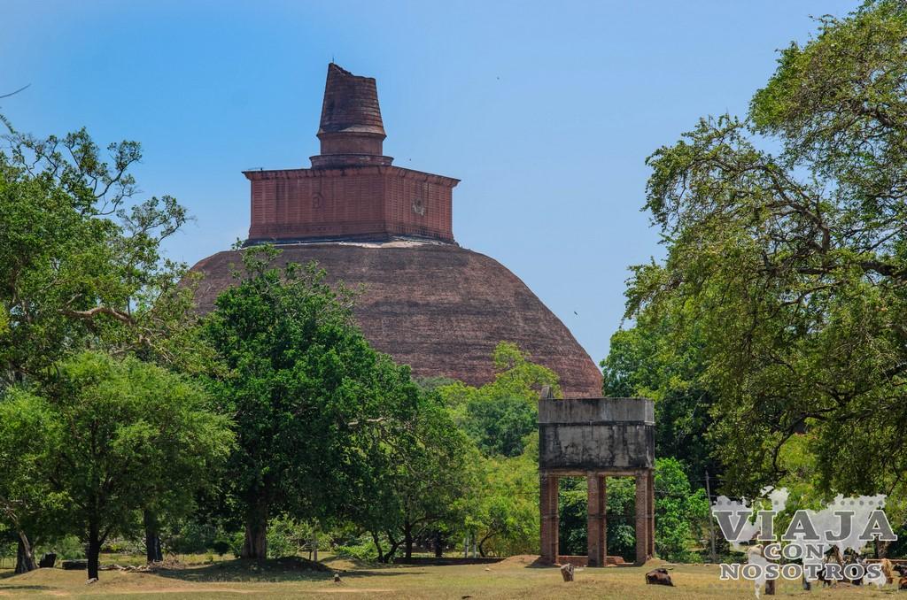 dagoba jetavanaramaya Anuradhapura
