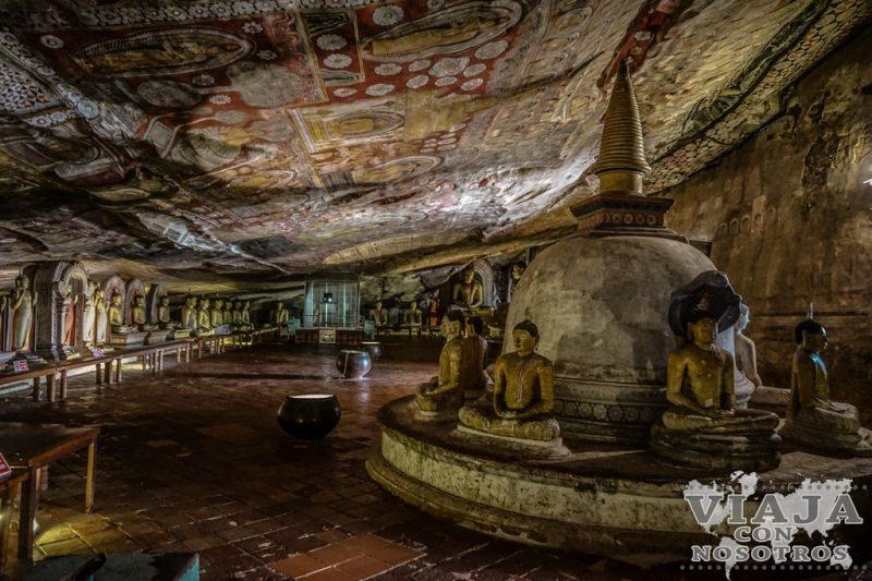 Como ir de Sigiriya a Kandy pasando por Dambulla