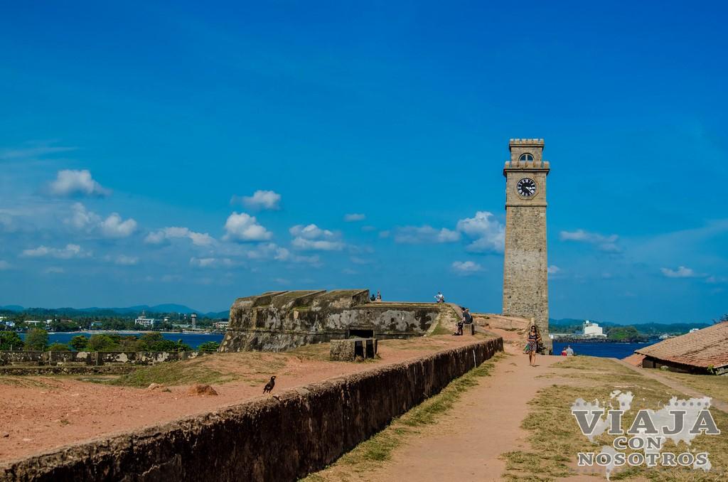 Torre del reloj de Galle
