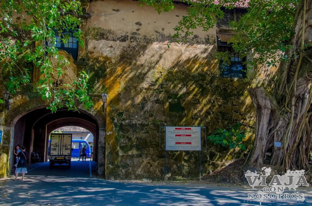 Como visitar la ciudad de Galle