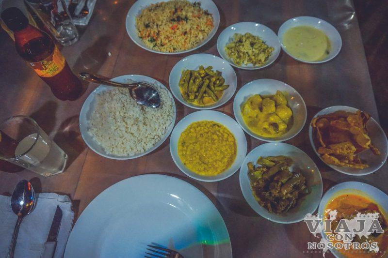 mejores lugares para comer en sigiriya