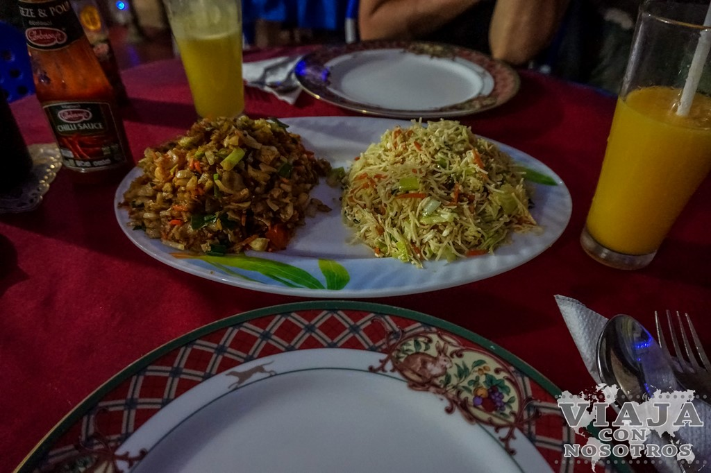 Que comer en Kandy