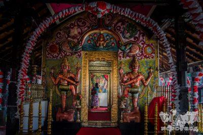 Templo hinduista en Kandy