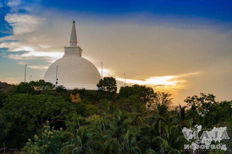 la mejor puesta de sol de Sri Lanka