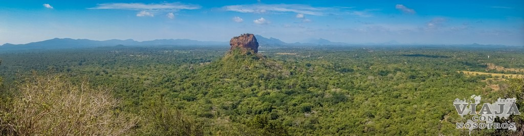 Las mejorejs vistas de Sigiriya desde Pidurangala Rock