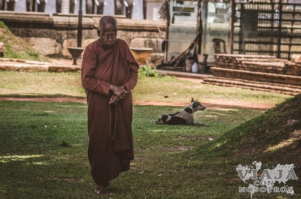 la dagaba mas bonita de Anuradhapura y de Sri lanka