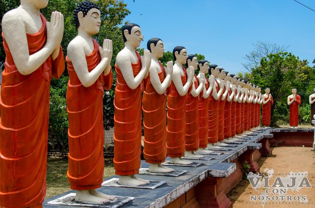 Los lugares menos conocidos de Sigiriya
