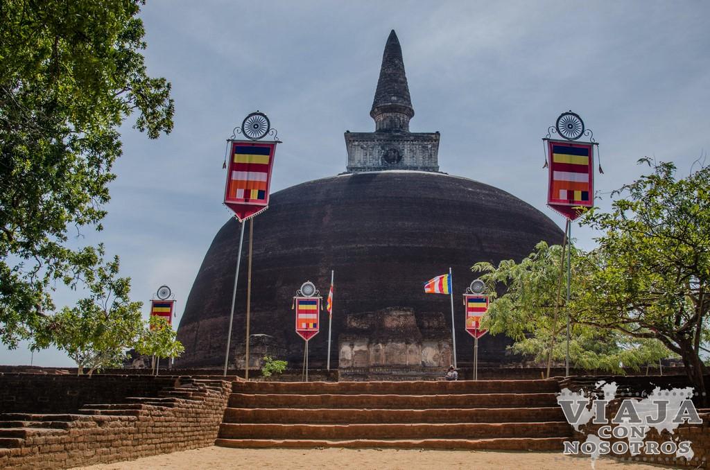 stupa rankoth vehera Polonnaruwa