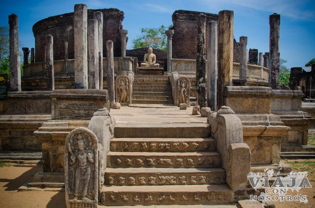 vatadage stupa house Polonnaruwa