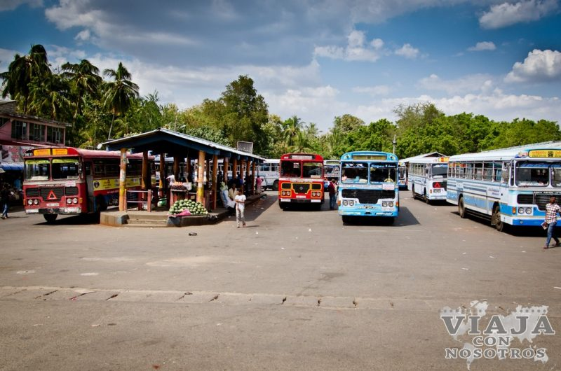 estación de buses de embilipitiya