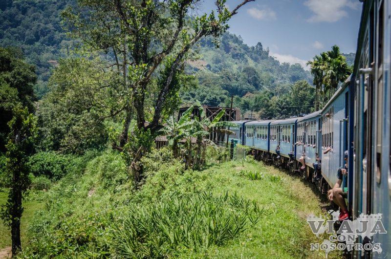 Consejos y recomendaciones de viajes de tren en Sri Lanka