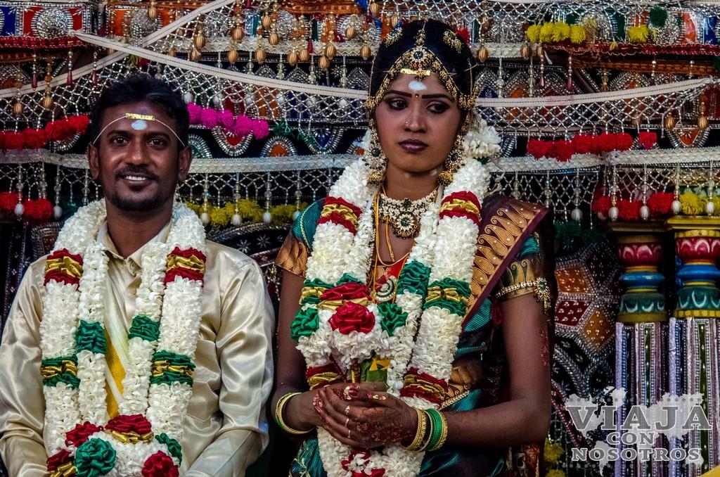 Boda hindú en Haputale
