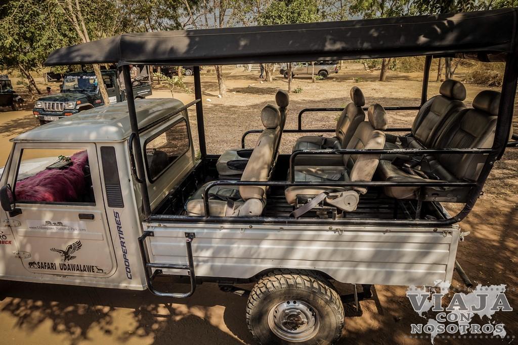 Safari en el Parque Udawalawe