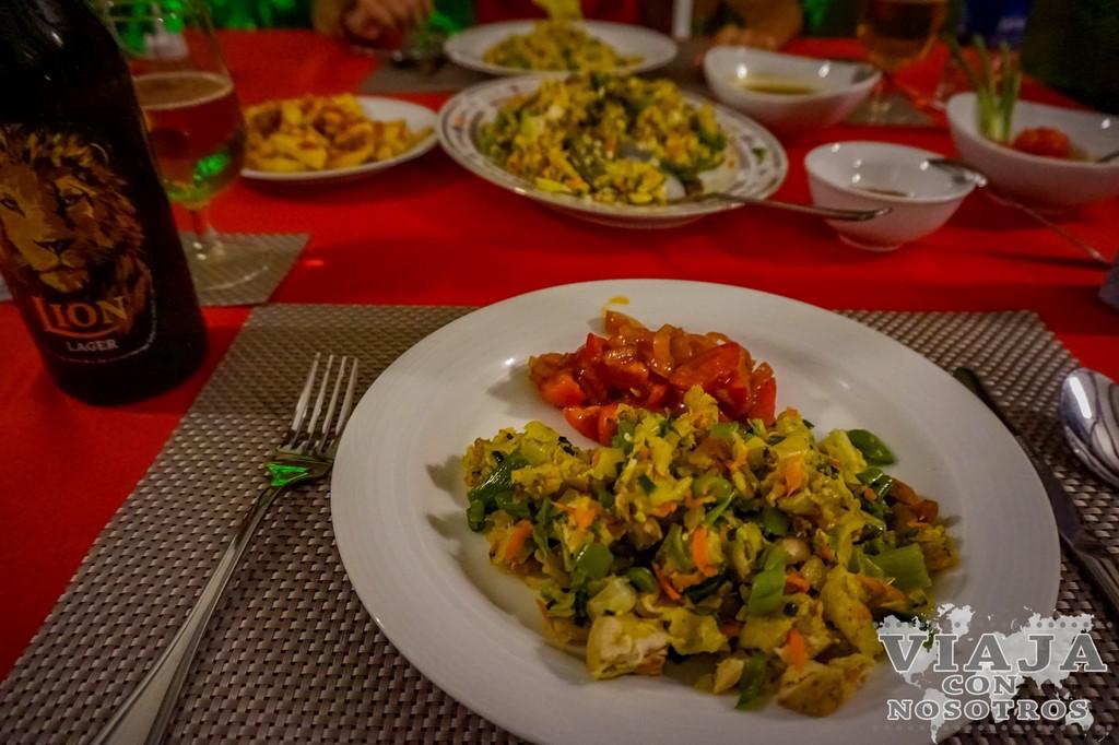 Que comer en Sri Lanka.