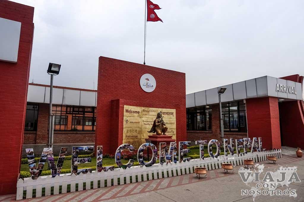 Como sacar el visado en el aeropuerto de Katmandu