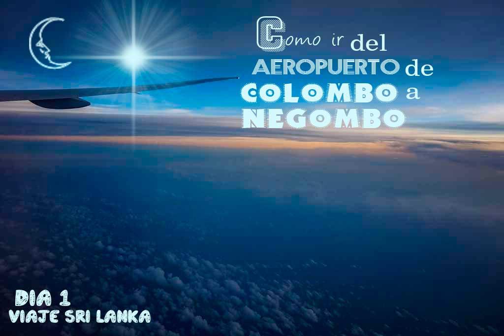 como ir del aeropuerto de Colombo al centro de la ciudad