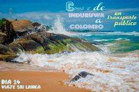 Como ir de Induruwa al aeropuerto de Colombo en transporte local