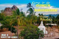 Como ir de Negombo a Anuradhapura