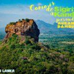 SIGIRIYA - KANDY: Pidurangala Rock, Buda de Aukana, Cuevas de Dambulla y Templo de oro de Dambulla