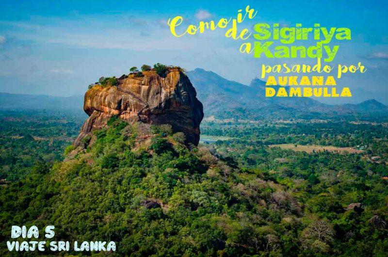 Como subir a Pidurangala Rock