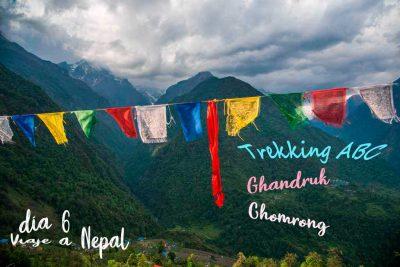 Trekking de los Annapurnas de Ghandruk a Chomrong