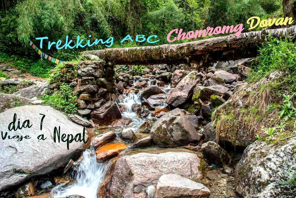 Trekking ABC tramo de Chomrong a Dovan