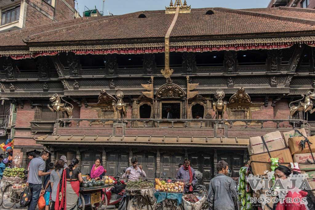 templo akash bhairav katmandu