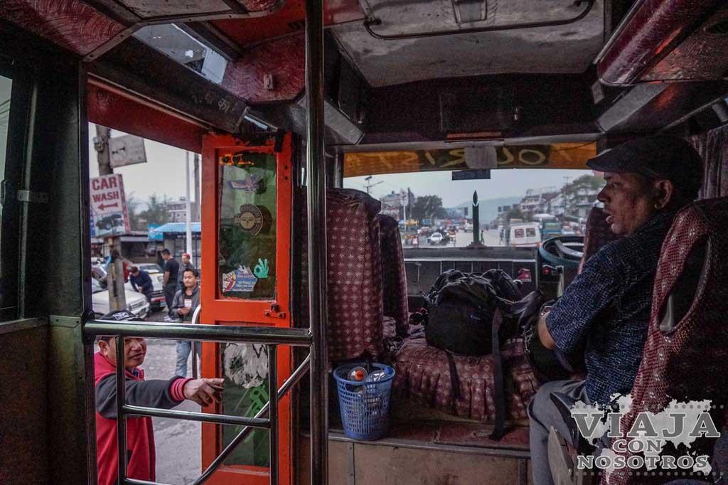 como ir de pokhara a nayapul