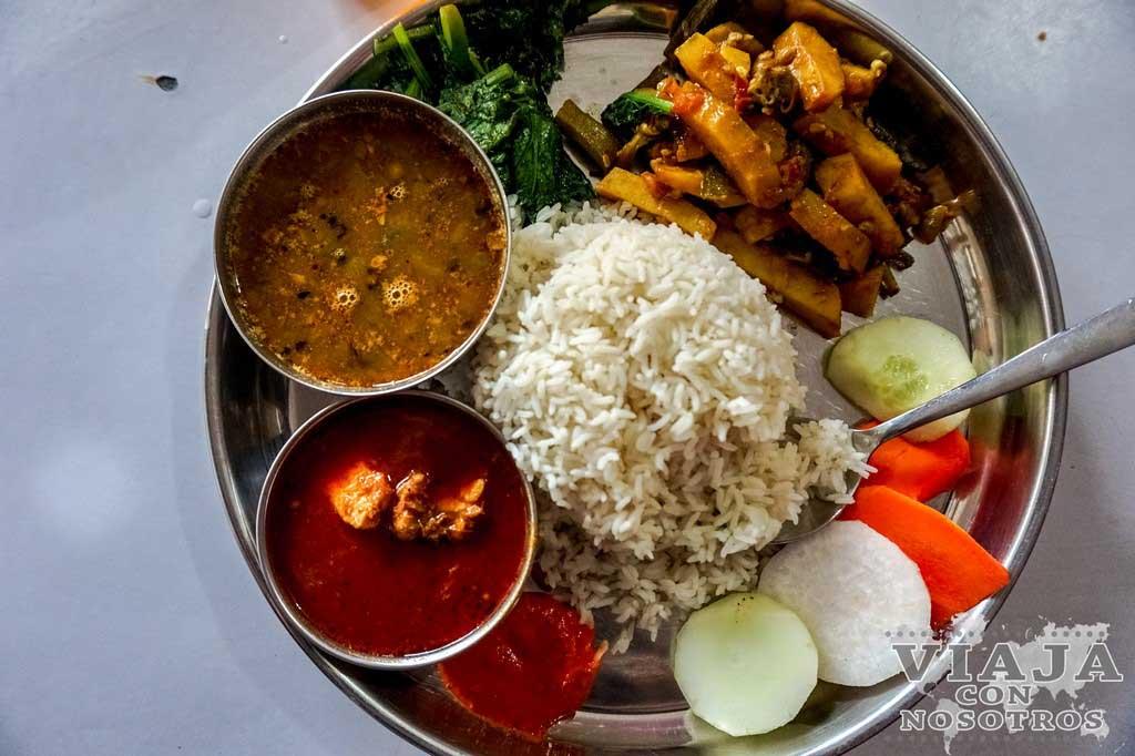 donde comer en pokhara